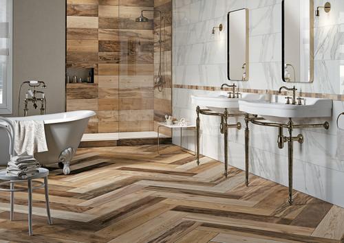 DRAKKER SOUTH 8X40 Tiles Bathroom Scene