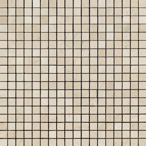 Crema Marfil Polished 5/8x5/8 Mosaics