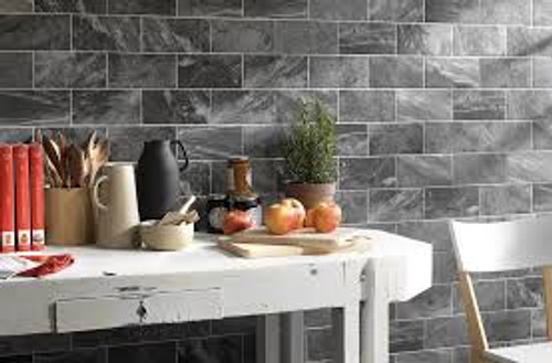 MARMI BLACK 4X8 Porcelain Tiles