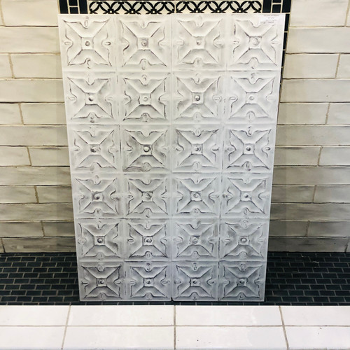 Glam Art Blanco 12x36 Wall Tiles 3D
