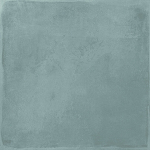 Manzanita Solids Matte Blue Steel  8x8 Porcelain Tile
