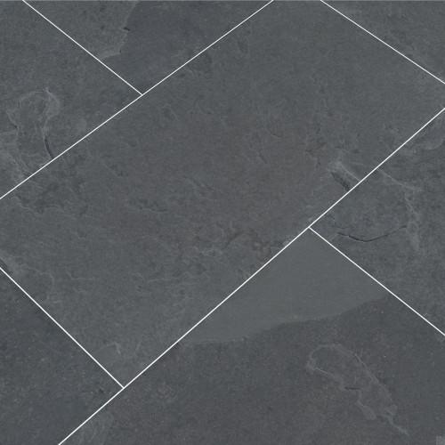Brazillian Black 16x24 Slate Tiles
