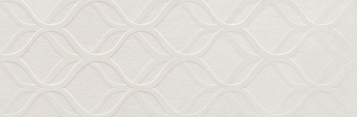 Elite White Decor 12x36 Wall Tile