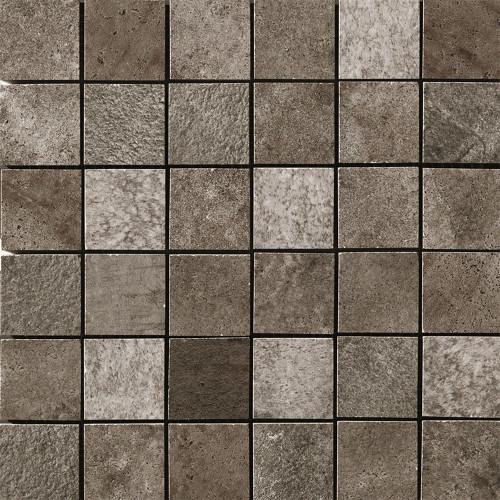 "Queen Stone Corris 2x2 Square Mosaics on 12""x12"" Mesh"