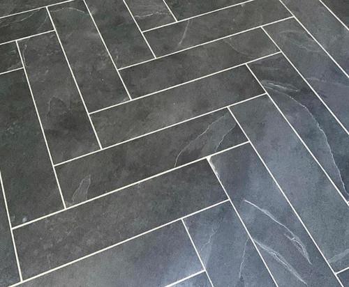 Brazilian Black 6x24 Slate Tiles