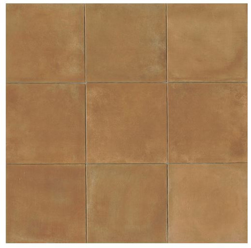 Cotto Europa: Terra Cotta Porcelain Tile 14x14 Gloss Finish Cotto Field Tile  Caramel