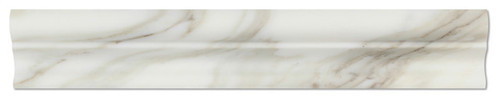 Calacatta Gold Italian Calcutta Marble Polished Crown Mercer Molding Trim