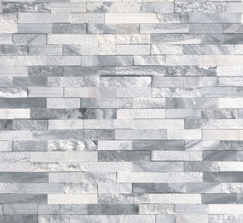 Crystal Cloud Multi-Finish Ledgerstone Panel 6x24