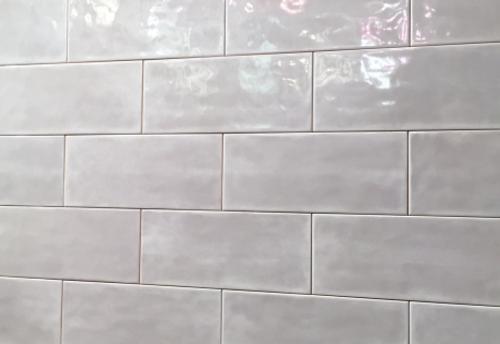 Manzanita Tender Gray Gloss 4x10 Ceramic