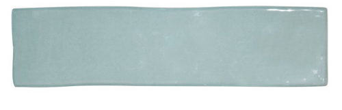 "MARRAKESH COLLECTION JADE GLOSS 3""X12"" HANDMADE SUBWAY TILE, 1/2""X12"" JOLLY STICK LINERS"