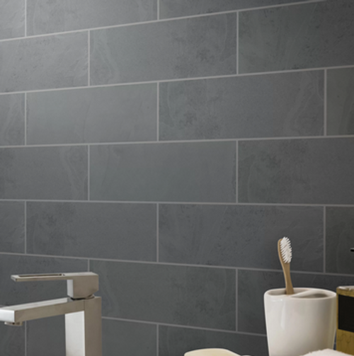 brazillian gray slate subway tiles