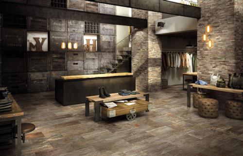 Creek Sant Elena 12x24, 2x2 Square Mosaics, 3x24 Bullnose, Scott Mosaic