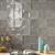 "Mediterranea Gris Gloss 5""x5"" Ceramic Wall Tile Closeup"