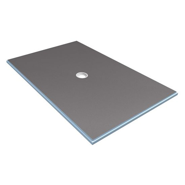 Wedi Fundo Primo Shower Floor Base with Center Drain 48 in. x 72 in.