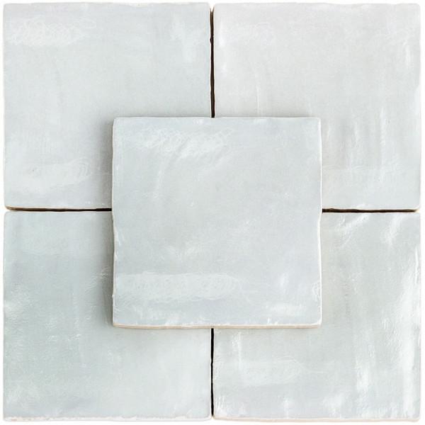 "Mallorca Matte Sky 4""x4"" Ceramic Wall Tile"