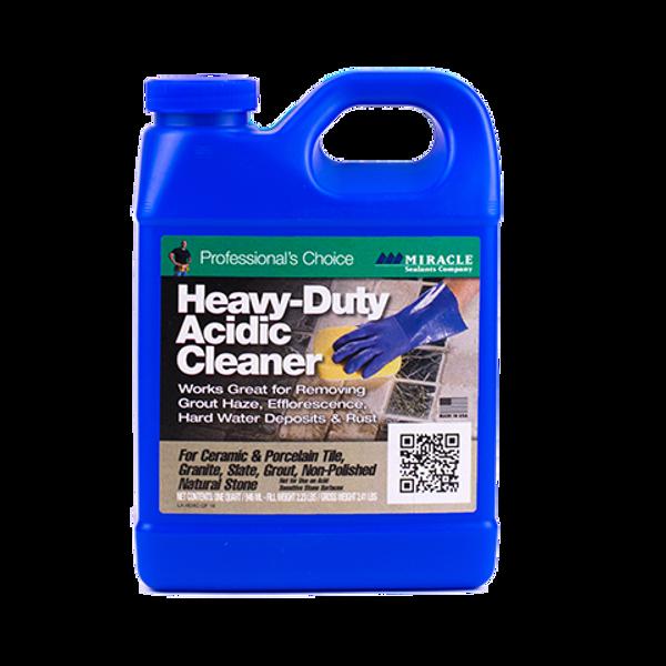 MIRACLE SEALANTS Heavy-Duty Acidic Cleaner