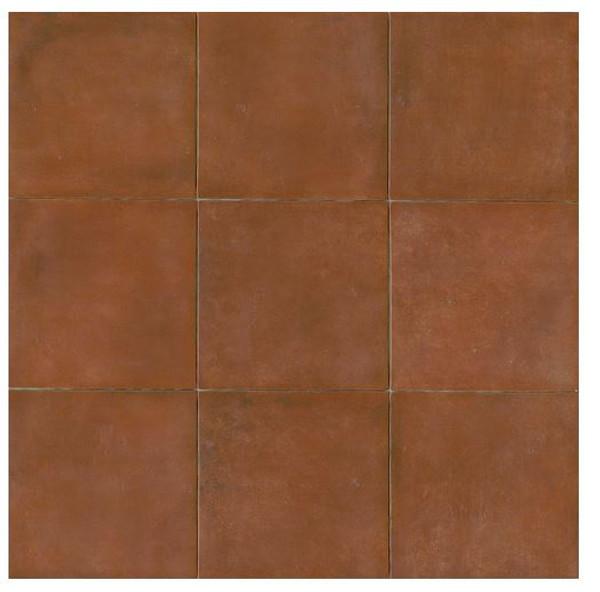 Cotto Europa: Terra Cotta Porcelain Tile 14x14 Matte Finish Cotto Field Tile  Red