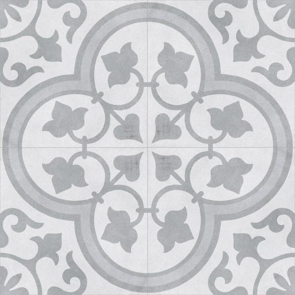 """Cuban Silver Ornate 9""""x9"""" Tiles"""