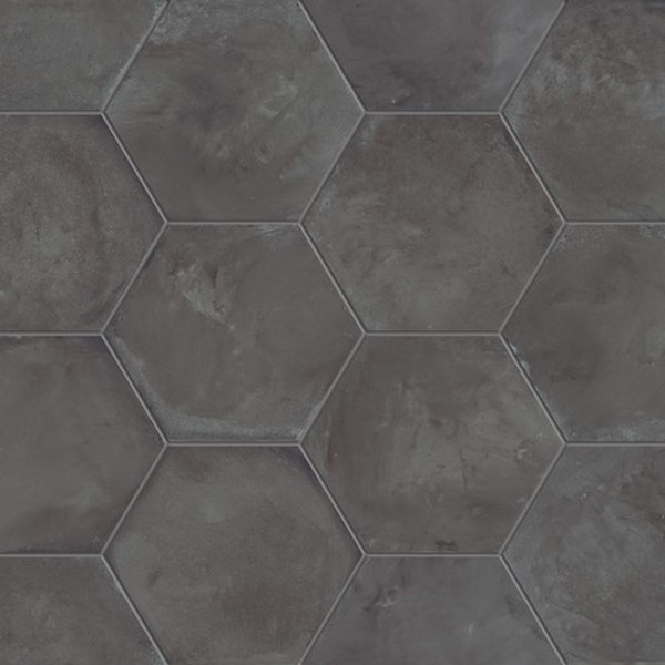"""Black Fox 8"""" Hexagon Tiles"""