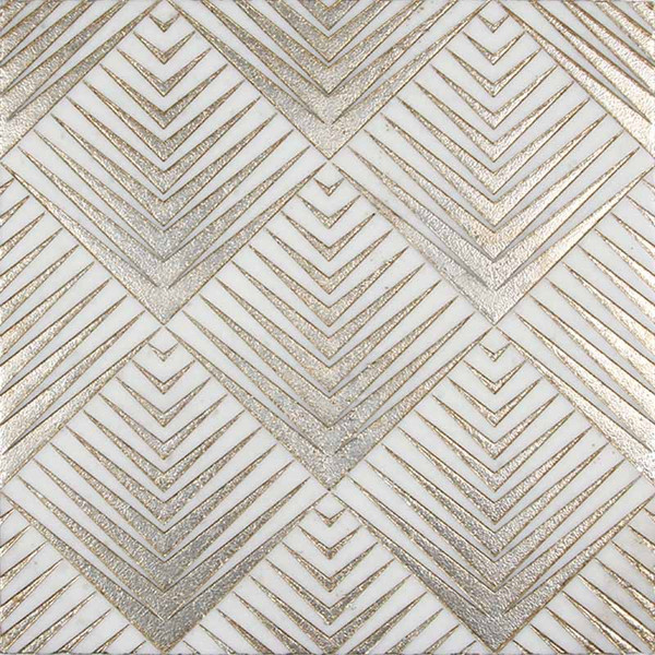 Code: RTZ GOLD Product Name: RITZ GOLD Material: ASHEN WHITE MARBLE Color: Gray