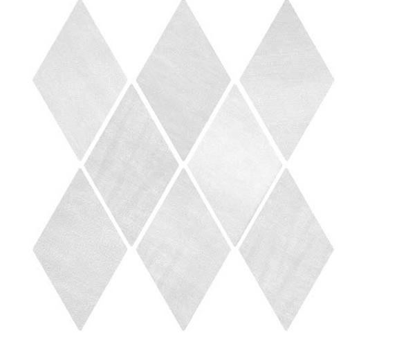 "DENIM 5,5""x9,5"" White Diamond Tiles (Different colour shades randomly mixed within the box)"