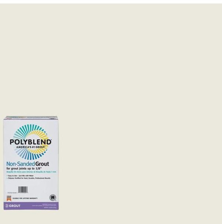 Polyblend #381 Bright White 10 lb. Non-Sanded Grout