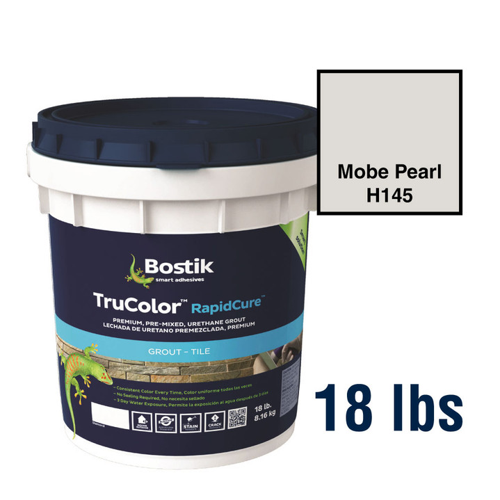 Bostik TruColor Grout 18 lbs Mobe Pearl H145