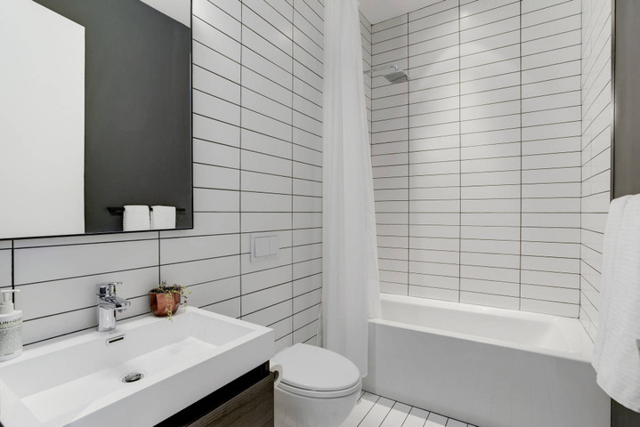 Color Collection Ice White Gloss 4x16 Ceramic Wall Tile