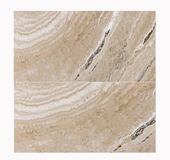 Luna Honed & Filled Travertine 12x24