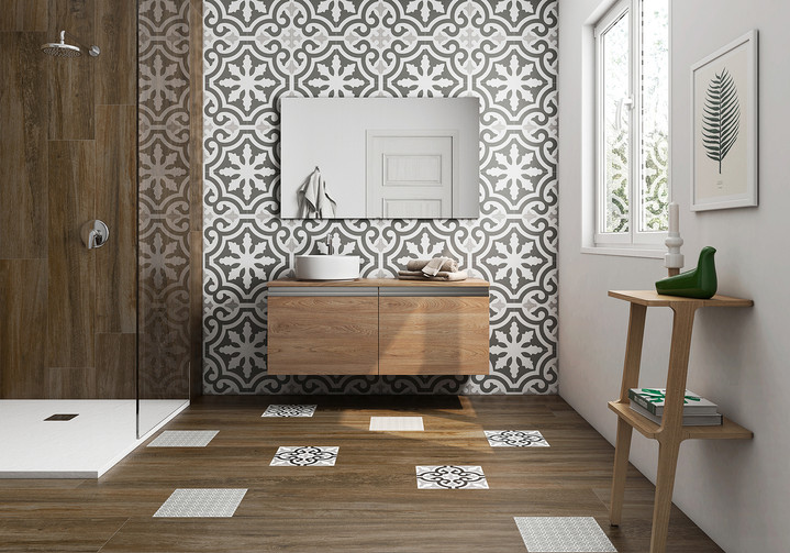 Stencil Collection: Jazz 8x8 Tile