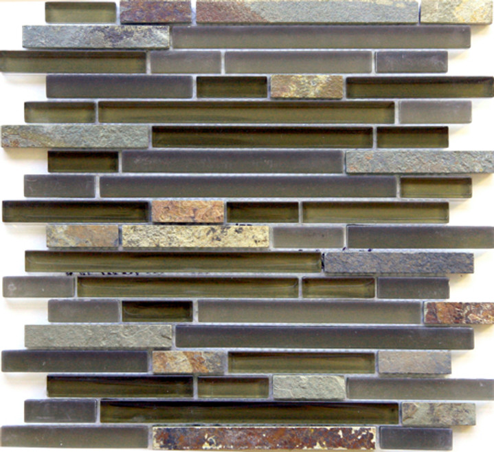 Arizona Tile Tuscon Brick Mosaic 12x12