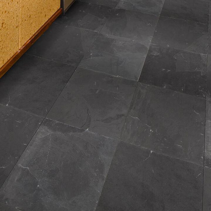 Brazilian Black Slate Tiles 24x24
