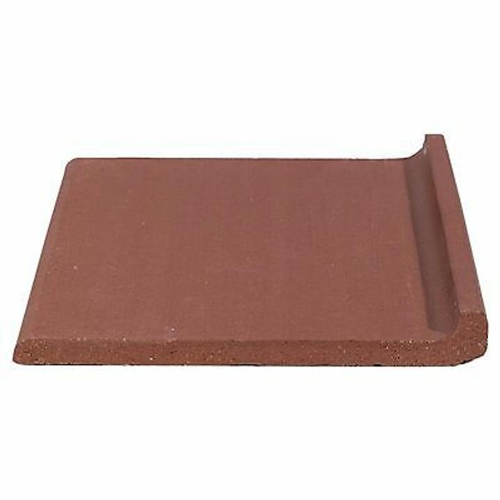 Quarry Tile Cove Base Colonial Red 6x6 $1.00 Per Piece (325 Pieces Left)