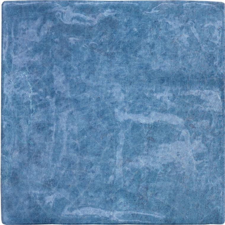 Heirloom Blue 4x4 Gloss Ceramic Tiles