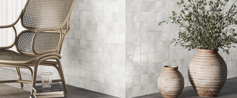 Heirloom White 4x4 Gloss Ceramic