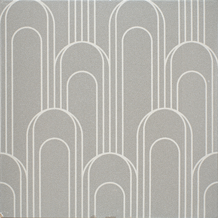 """Epic Porcelain Tile Collection Oval Taupe Gray 8""""x8"""" $8.99 Sq. Ft."""