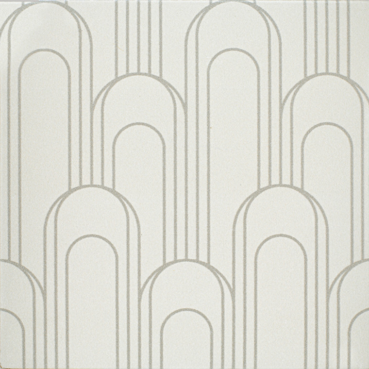 """Epic Porcelain Tile Collection Oval Gray Taupe 8""""x8"""" $8.99 Sq. Ft."""