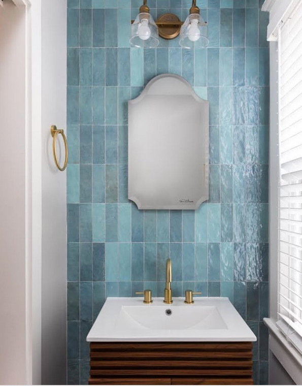 Trinity Aqua Gloss 2.6x7.9 Ceramic Tile
