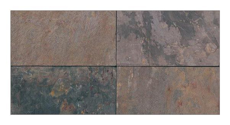 SL-32 Rajah Multi-Classic 12x24 Slate Tiles