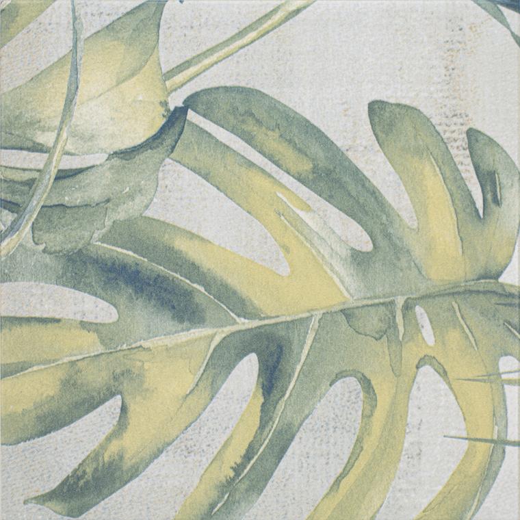 """Selva Leaves 8""""x8"""" Porcelain Tile"""