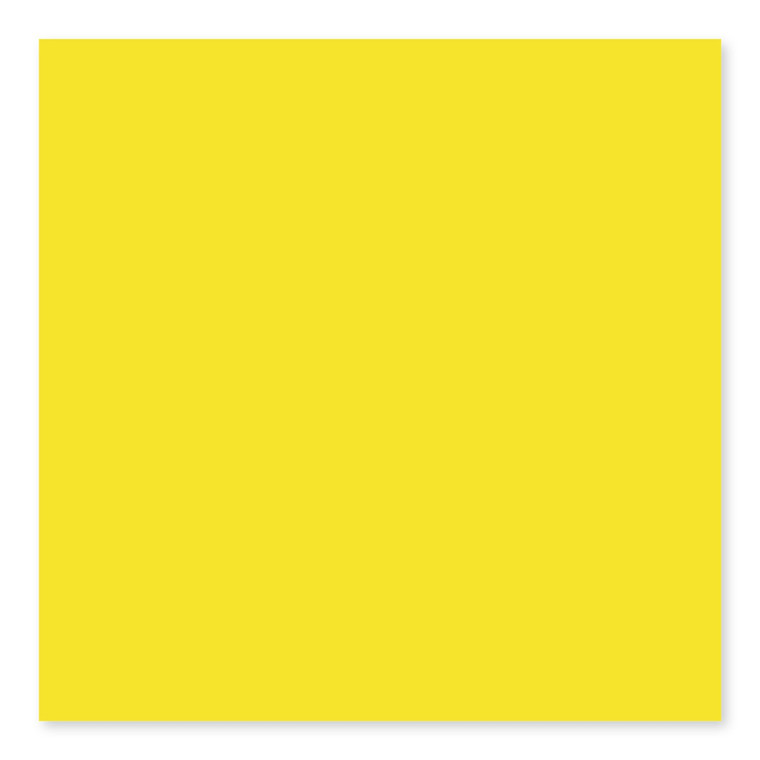 Yellow Bright  U744 3×6, 4×4