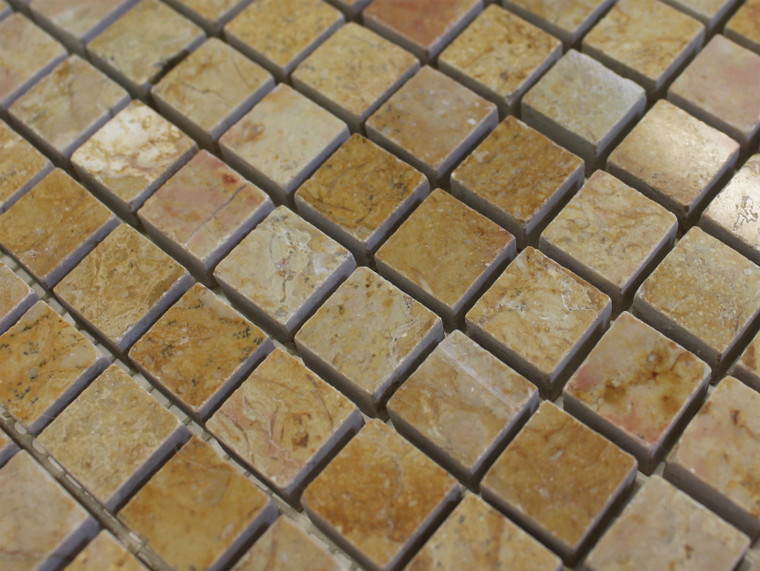 Giallo Reale Polished 5/8x5/8 Mosaic Tiles