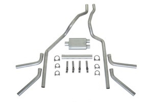 Pick-up Truck Dual Exhaust Kit STAINLESS STEEL16ga