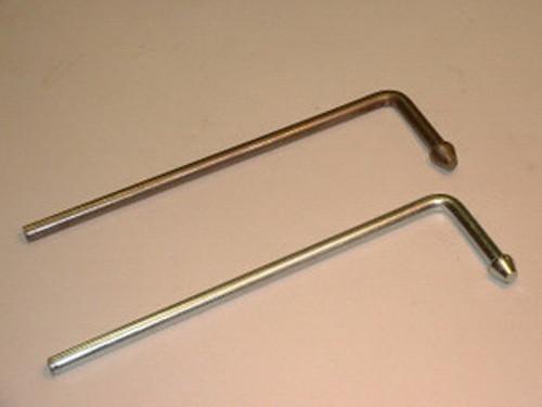"Headed L Rod Hanger, 3/8"" Mild Steel"