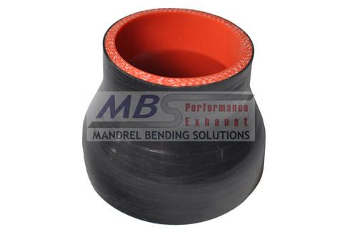 5-ply Hi-Performance Black Silicone Hose (Coupler) Reducer