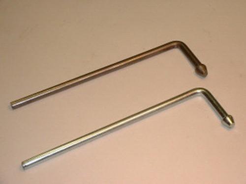 """Headed L Rod Hanger, 3/8"""" Stainless Steel"""