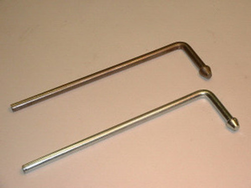 "Headed L Rod Hanger, 1/2"" Mild Steel"