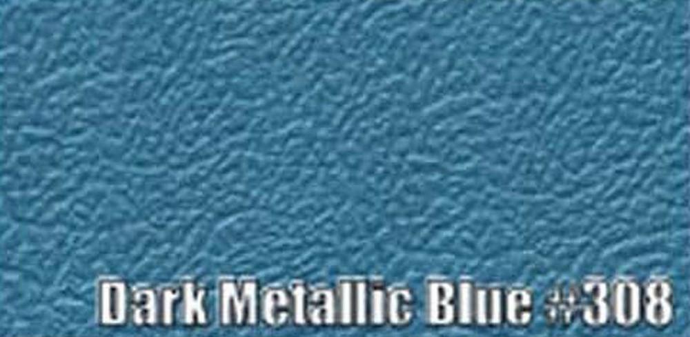 1963-66 DART (EXCEPT CONVERTIBLE) SUN VISORS, BISON PATTERN, DARK METALLIC BLUE