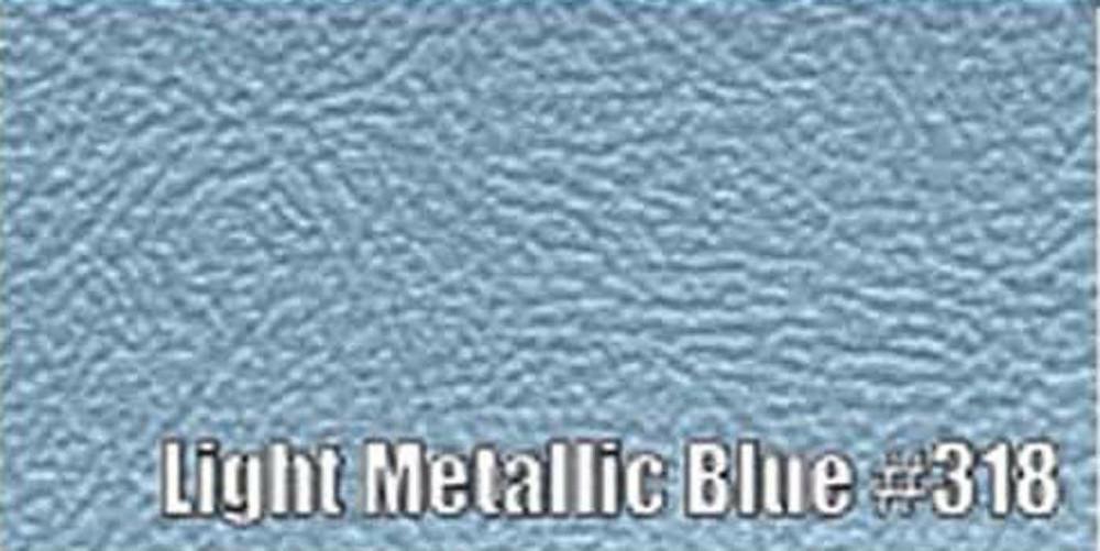 1963-66 DART (EXCEPT CONVERTIBLE) SUN VISORS, BISON PATTERN, LIGHT METALLIC BLUE