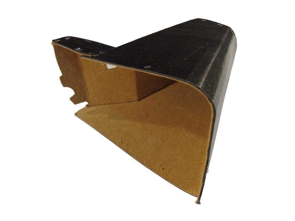 1940 CADILLAC SERIES 90 TAN FELT GLOVE BOX LINER